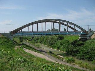 土木遺産に認定された岡山橋