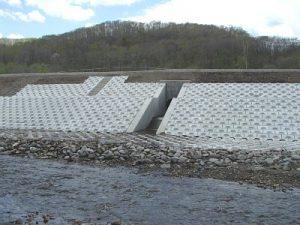 パンケ川排水工